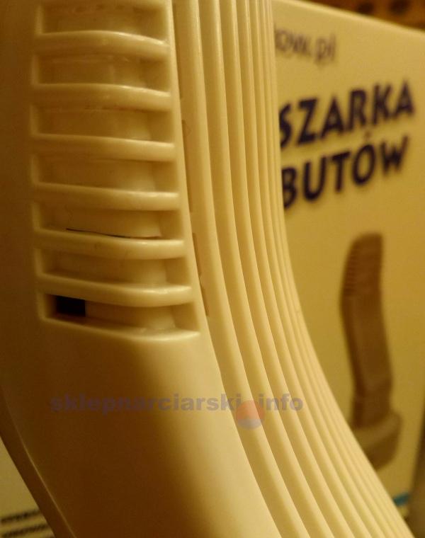 Elektrowarm SDW100 - grot suszarki oraz czujnik założonego buta